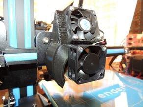 Ender 2 Fan Duct Axial
