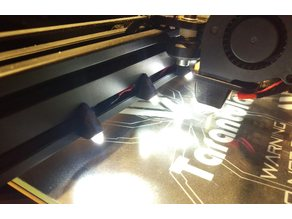 5mm LED holder for aluminum extrusion