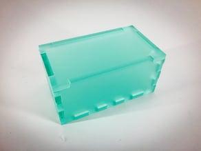 Elegant finger box with lid