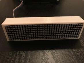 LED Matrix Case (MAX7219 8x8)