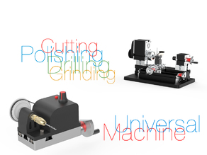 Universal Machine for Mini Lathe