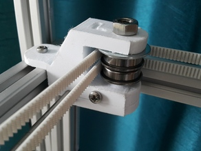 Smartrapcore Alu - Rear L & R pulley holders/y rod supports fully supported