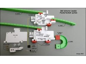 Ball detector module.