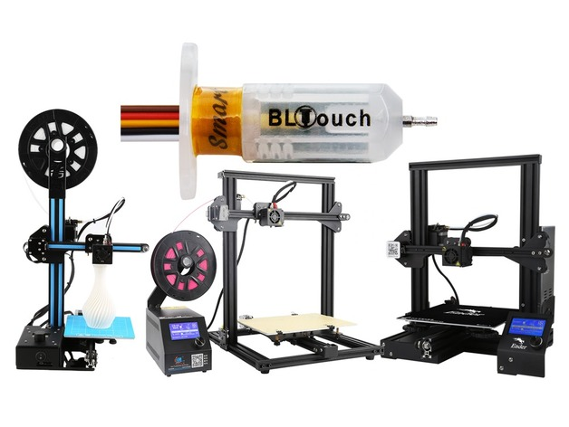 The complete BLTouch/3DTouch guide for Creality printers (CR