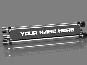 Awesome Name Plate Project