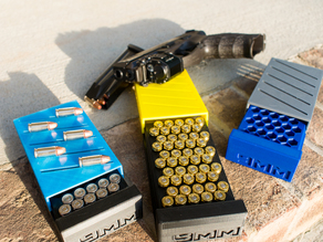 Max's 50 round 9mm Caliber Ammo Box