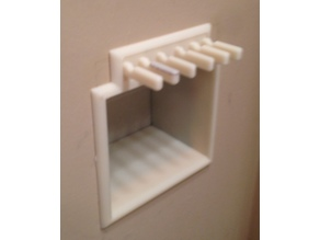 Recessed in Wall Soap and Tooth Brush Holder
