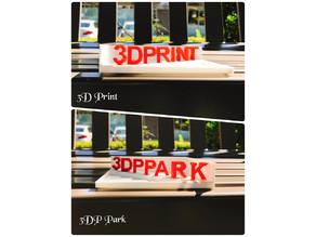 illusion【3DP Park & 3D Print】