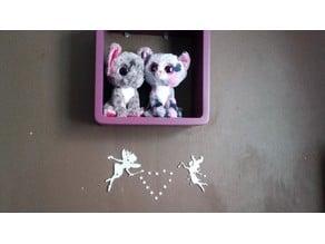 Fairy figurine and their stars