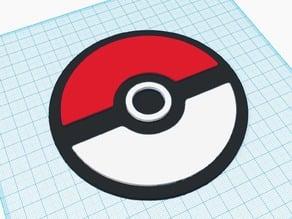 Pokemon - Pokeball Drink Coaster