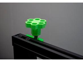 Ender Z-Axis Knob - Honeycomb