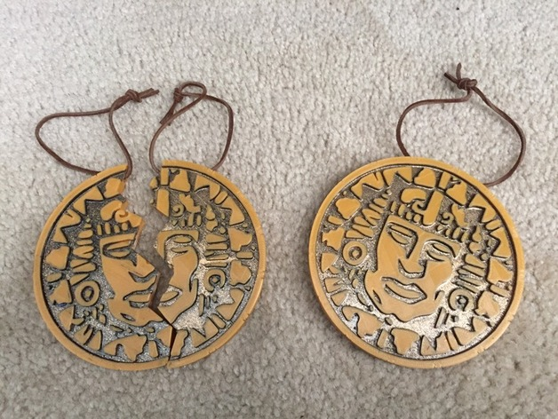 Legends of the hidden temple pendant of life full half by jim2386 aloadofball Gallery