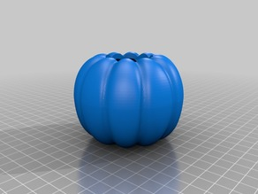 Hollowed pumpkin with removable top for halloween and other uses