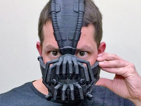 Bane Mask - The Dark Night Rises