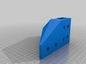 D-Bot Bottom (Foot) Corner Brackets for Rigidity