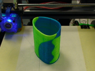 Pen pot Multiple extruders