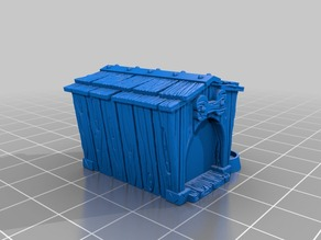 Dog Kennel (28mm scale)