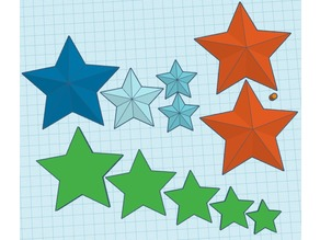 Glow Stars (hanging or Ceiling)