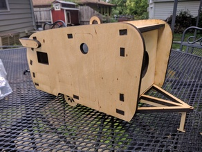 Laser Cut Camper Bird House