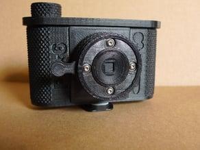 Trim Ring & Cap for P6*6 Pinhole Camera