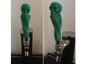 Celtic Skull Twisted Beer Tap Handle