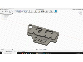 Ktm SX 85 key chain