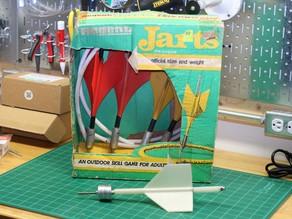 3D Printed Jart (aka Lawn Dart)