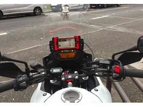 Honda CB500X iPhone mount