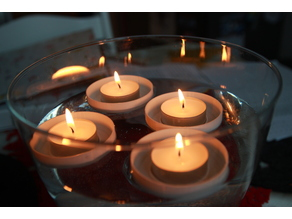 Sailing tea candles