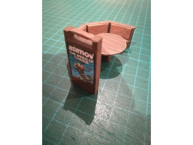 Bistro Media Table- 28mm Sci-fi Terrain by S44lade