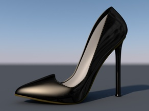 Woman Shoe - Pigalle V4.2 Update! - Higher Heels