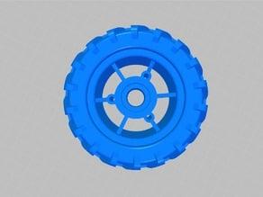 Off-Road Wheel model for Longboard