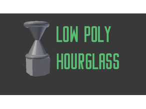 Low Poly Hourglass