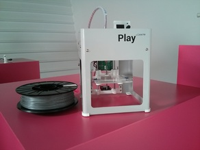 Printable spool holder