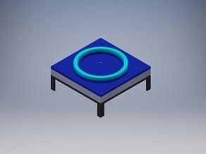 Air rail easy spin filament holder