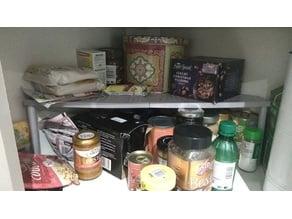 Large Corner Cupboard Table/Shelf
