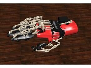 Prosthetic servo glove ver 0.1