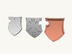 Dominion Crusader MK3 - Flat Shields