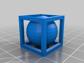Ball in cage, my first CAD attempt