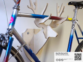 Deer Bike Rack