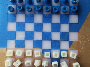 Chess with Curved and Ortho pieces