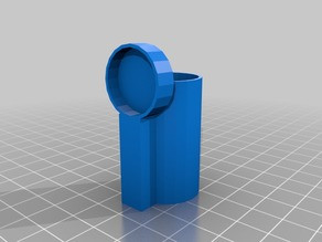 Gluestick Magnet Holder