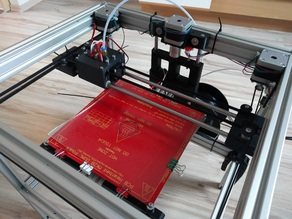 3D Core XY Dual Extrusion Printer