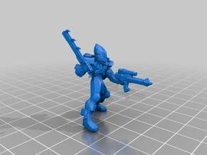 Space Elf Striking Scorpion Exarch Eldar 40k Proxy