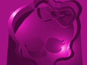 Monster High logo Cookie Cutter