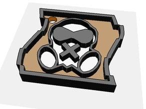 Mute - Rainbow Six Siege Keychain