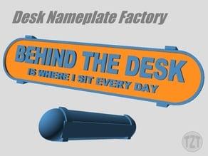 Customizer - Desk Nameplate Factory