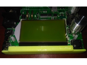 Protection LCD for electronic load