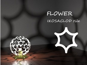 Flower: Ikosaglod Lamp Tile