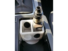 Mod box stand for cupholder Mercedes W204 (and others)